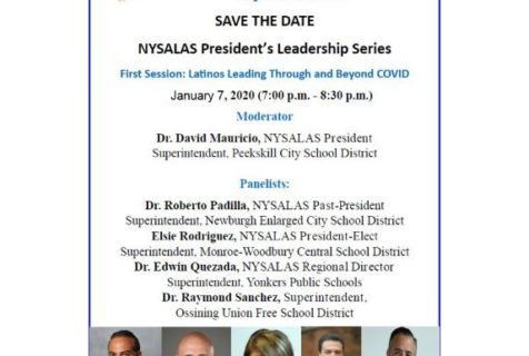 Save the Date: NYSALAS President's Leadership Series